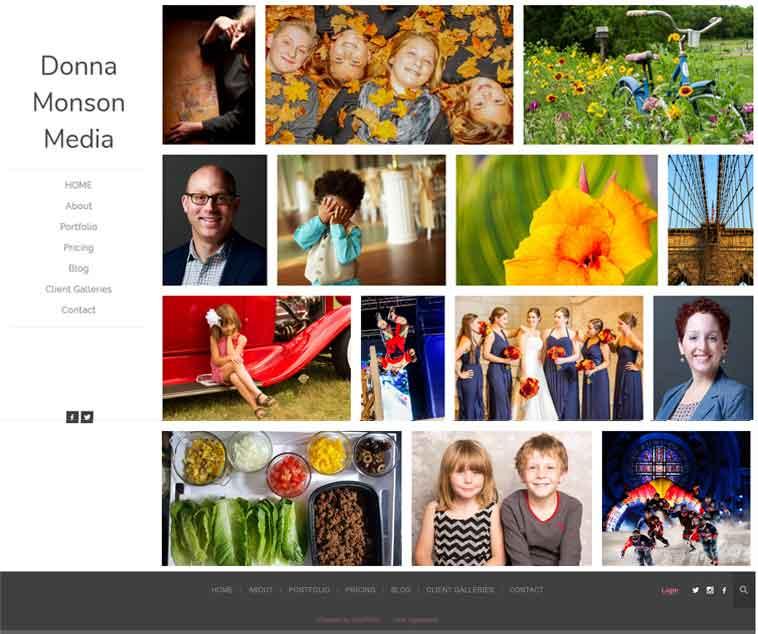 Live Zenfolio Photography Website Demo | Scribaceous.com