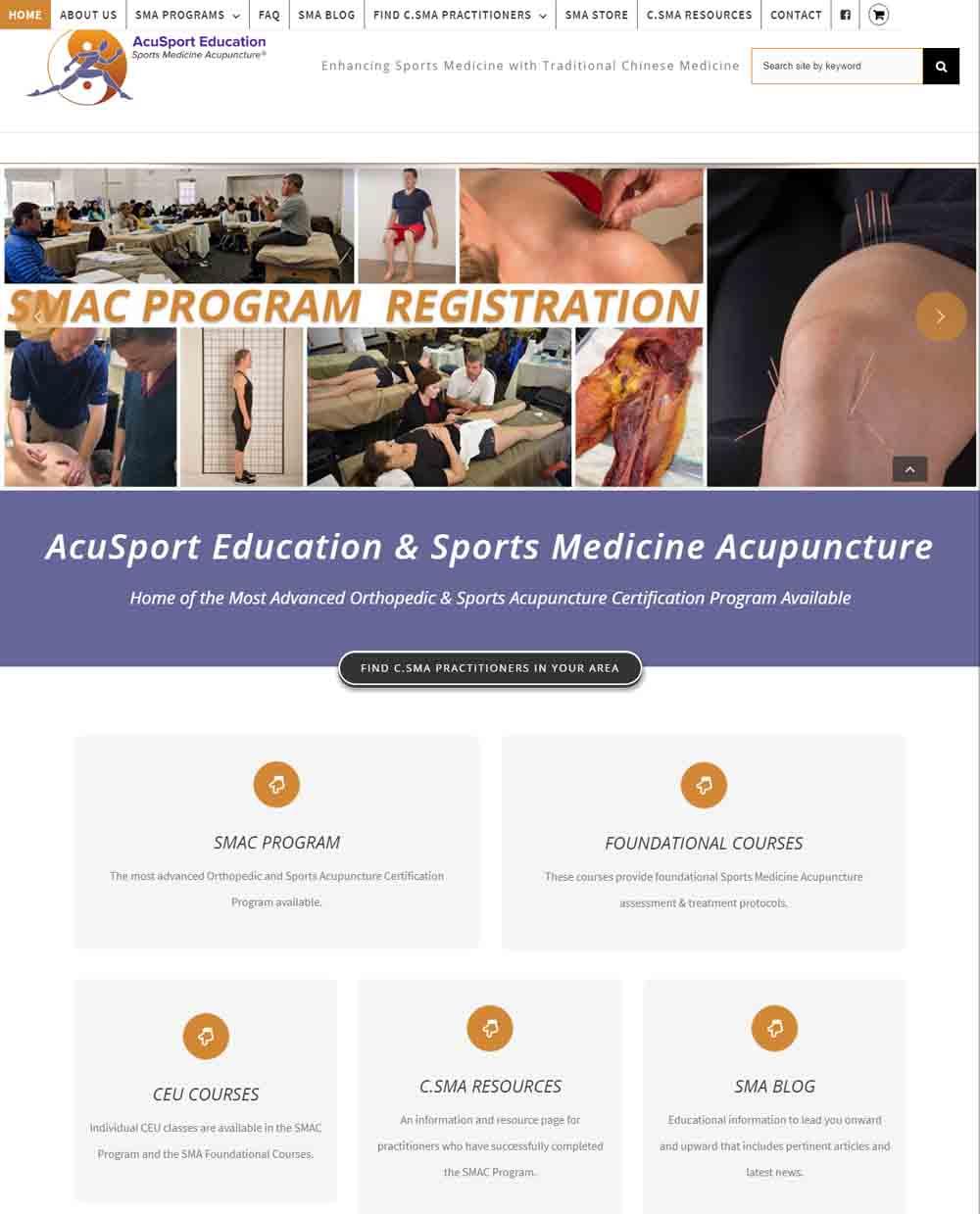 Acupuncture Website Design by Scribaceous.com