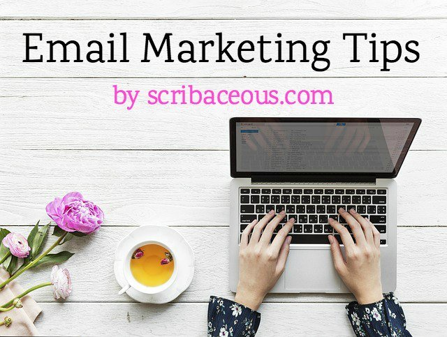 SMALL BUSINESS TIP #10: Email Marketing Tips | SCRIBACEOUS.COM