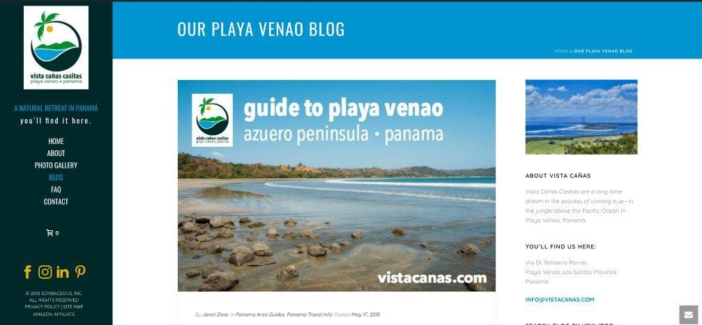Optimized Tourism Blog Content   Scribaceous.com