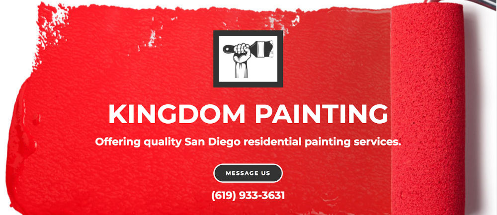 Simple House Painting Website by One Page Website Pro | SCRIBACEOUS.COM