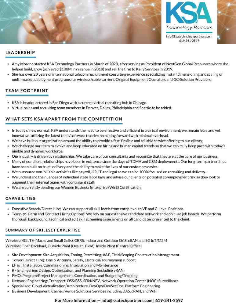 GRAPHIC DESIGN: Corporate One Pager | SCRIBACEOUS.COM