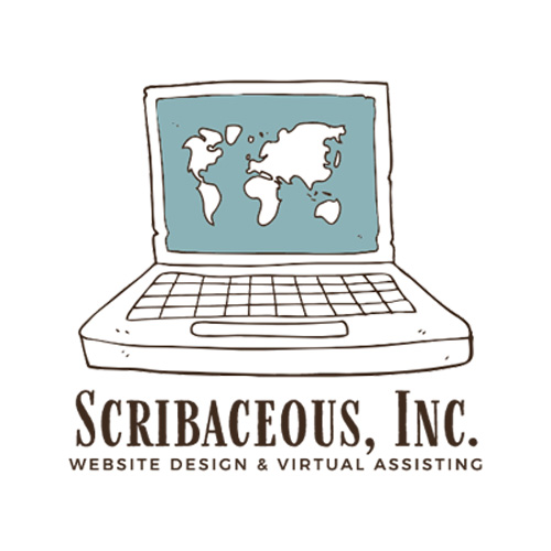 WordPress Web Design & Development-Scribaceous, Inc. Logo
