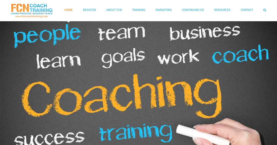 A Team Training Website built with the Avada Wordpress Theme | SCRIBACEOUS.COM