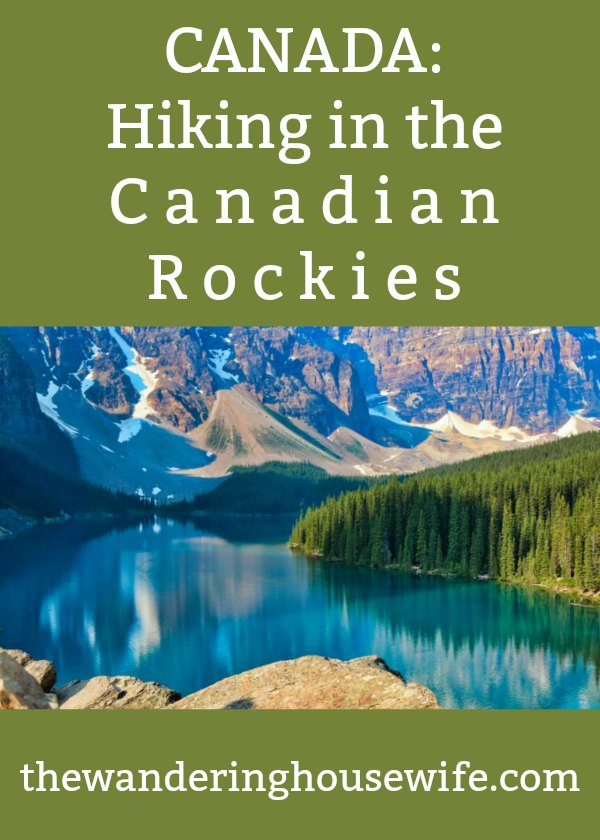 Canada: Hiking in the Canadian Rockies