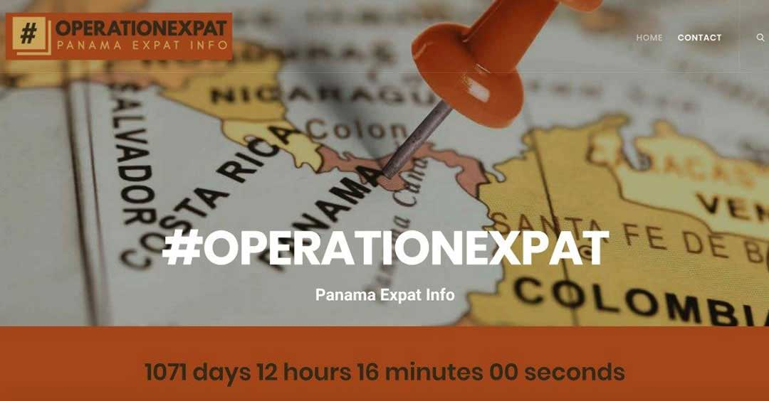 #OPERATIONEXPAT (One Page Blog Website) | SCRIBACEOUS.COM