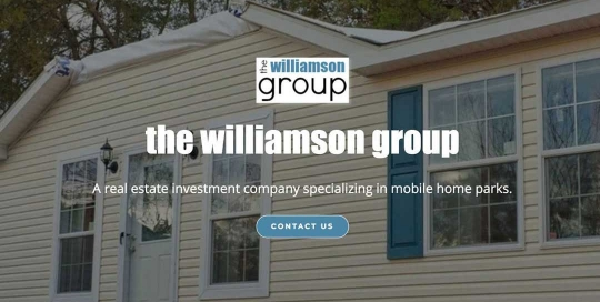 The Williamson Group (Single Page Business Website) | SCRIBACEOUS.COM