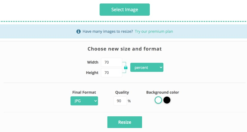 Resize Images Online with ReduceImages.com | SCRIBACEOUS.COM