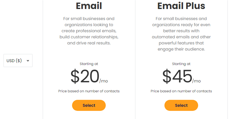 Constant Contact Pricing   SCRIBACEOUS.COM