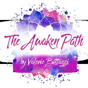 The Awaken Path logo by Valerie Bottazzi